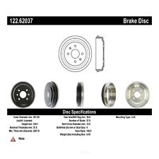 Brake Drum-4-Wheel ABS Rear Centric 122.62037