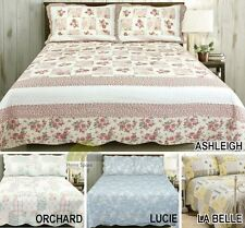 Polyester Country Decorative Bedspreads