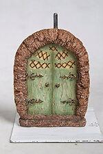 Miniature World Green Arbor Fairy Door