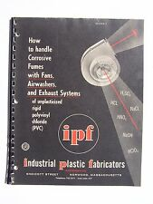 How To Handle Corrosive Fumes Handbook 1961