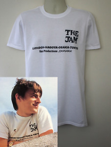 The Jam 1980 tour t-shirt worn by Paul Weller clash Style Council band who