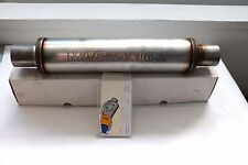 "Magnaflow 14419 3"" inlet outlet Resonator Stainless Steel 14"" Body Round Muffler"