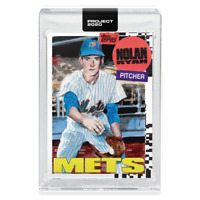 Topps PROJECT 2020 Card 147 - 1969 Nolan Ryan by Jacob Rochester