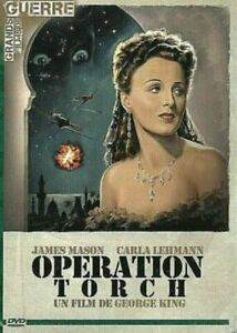 DVD - OPERATION TORCH / GEORGE KING, JAMES MASON, CARLA LEHMAN, VO.ST, NEUF