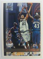 1997 97-98 TOPPS Tim Duncan #115, ROOKIE CARD RC SAN ANTONIO SPURS, Sharp ! HOF