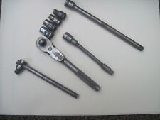 "vintage craftsman 1/4"" drive BE ratchet/flex extension/sockets/accessories"