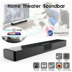 USB Bluetooth-Soundbar Stereo Lautsprecher mit Fernbedienung 3.5 mm FM Radio