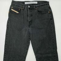 Diesel Miller W32 L32 grau Herren Designer Denim Jeans Vintage Hose Retro Mode