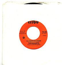 MFD IN CANADA FRENCH QUEBEC ROCK 45 RPM YVON MORISSETTE : IL FAUT