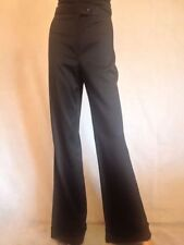 Wide Leg High Tall Tailored Trousers for Women