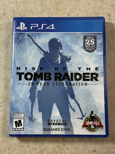 Rise of the Tomb Raider: 20 Year Celebration (Sony PlayStation 4 / PS4, 2016)