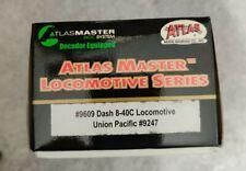 HO Atlas Master DCC #9609 Dash 8-40C UP Road Number 9247