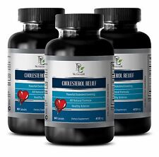 Vascular System - CHOLESTEROL RELIEF - Anti-Stroke Care Natural Supplement - 180
