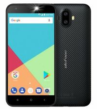Ulefone s7 5.0 inch Android 7.0 Black Smartphone. 8MP Dual camera. 8GB Quad core