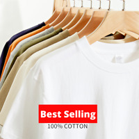 Men's 100% Cotton Plain T Shirts Tee shirts || STYLER STREET T-Shirts | SALE ON