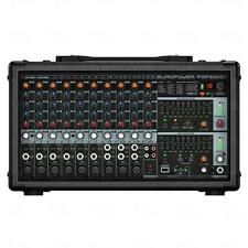 Behringer EuroPower PMP2000D PA DJ 14 Channel Powered Mixer 2000 Watt