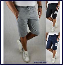 pantaloncini pantaloni corti uomo sportivi sport bermuda cotone shorts palestra