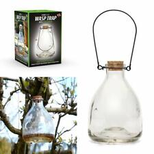 Large Hanging Honey Pot Outdoor Glass Wasp Trap & Fly Catcher For Flies Insects