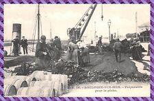 Boulogne sur Mer - Préparatif pour la pêche