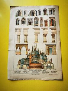1842(Made) Lithograph by Vincent Brooks Day & Son - World Architecture