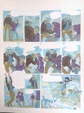 UNIQUE Bleu coloriage Mise en couleur  Chiwana Malik PL 10