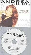 CD--ANDREA BERG -- - SINGLE -- WARUM NUR TRAEUMEN
