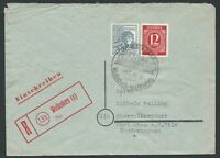 GERMANY 1948 Allied Occupation Registered WEISSENHORN SHS