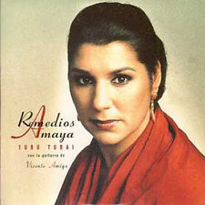 CD Single Amaya RemediosTuru Turai Promo 1 Track CARD SLEEVE Eurovision Star !