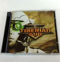 Command & Conquer Tiberian Sun w/ Serial Number PC 2 Discs Westwood Studios 1999