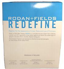 NEW Rodan and Fields Redefine Regimen Full Size Kit Exp 4/21- Brand New Sealed