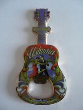 Hard Rock Cafe USHUAIA - City Tee Shirt - Guitar & HRC Logo Magnet Bottle Opener