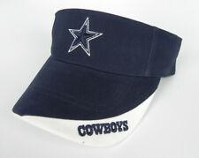 DALLAS COWBOYS NFL VINTAGE TWINS ENTERPRISES 2-TONE GAME DAY VISOR CAP HAT NWT!