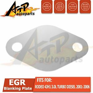 EGR Blanking Plate suit for Holden Rodeo 4JH1 3.0L Turbo Diesel 2001-2006 AU