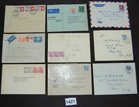 Switzerland collection lot of 27 covers mostly 1940s-50s [FD1421]