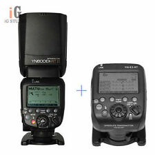 Yongnuo YN600EX-RT II flash speedlite + YN-E3-RT flash trigger for canon
