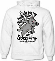BSW Youth Girls Soft Kitty Sheldon Cooper Big Bang Theory Song Hoodie LRG Grey