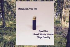 Aged Malyasian Oud 1ml High Quality Thick Perfume Oil Attar  ittar GRADE AAA