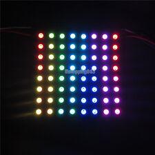 8*8 Addressable WS2812B 5050 RGB SMD Flexible 64 LED Pixel Panel Light DC 5V