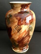 """Rare Art Deco Hand Painted """"J Fryer"""" Old Courtware 10""""/26cm Lustre Ware Vase"""