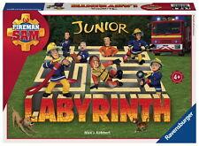 Ravensburger Kinderspiel Schiebespiel Labyrinth Junior Feuerwehrmann Sam 21282