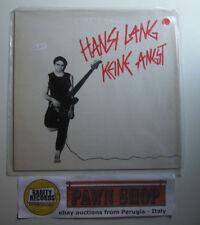 """Hansi Lang """"Keine angst"""" LP SCHALLTER 204 384 Austria1982 VG+/VG"""