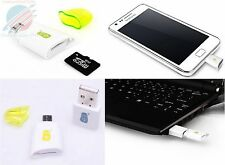 Micro USB OTG Host SD Card Reader for Samsung Galaxy S and Note Android Devices