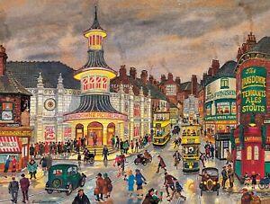 George Cunningham - London Road - Sheffield Print