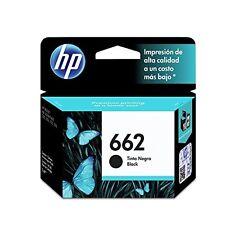 HP 662 CARTUCHO DE TINTA NEGRO HP DESKJET CZ103AL