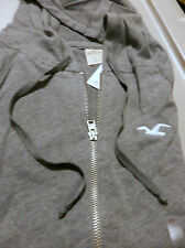 NWT Hollister by Abercrombie Boat Canyon Hoodie  Large Gray