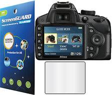 3x Clear LCD Screen Protector Guard Cover Shield Film Nikon Digital SLR D3200