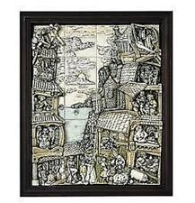 Harmony Kingdom Wimberley Tales 20-Piece Tile Set with Frame Retired New In Box