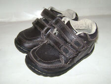 STRIDE RITE PIERCE TODDLER BOYS SHOES DRESS SNEAKERS size 5 W BROWN LEATHER