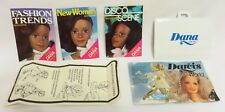 Kenner DANA Fashion Doll PORTFOLIO, BROCHURE, 3 MINI-MAGS, INSTRUCTIONS