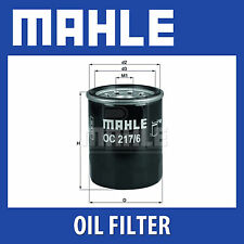 Mahle Oil Filter OC217/6 - Fits Suzuki Ignis, Swift - Genuine Part